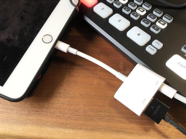 ATEM Mini Pro & ipad mini 接続完了