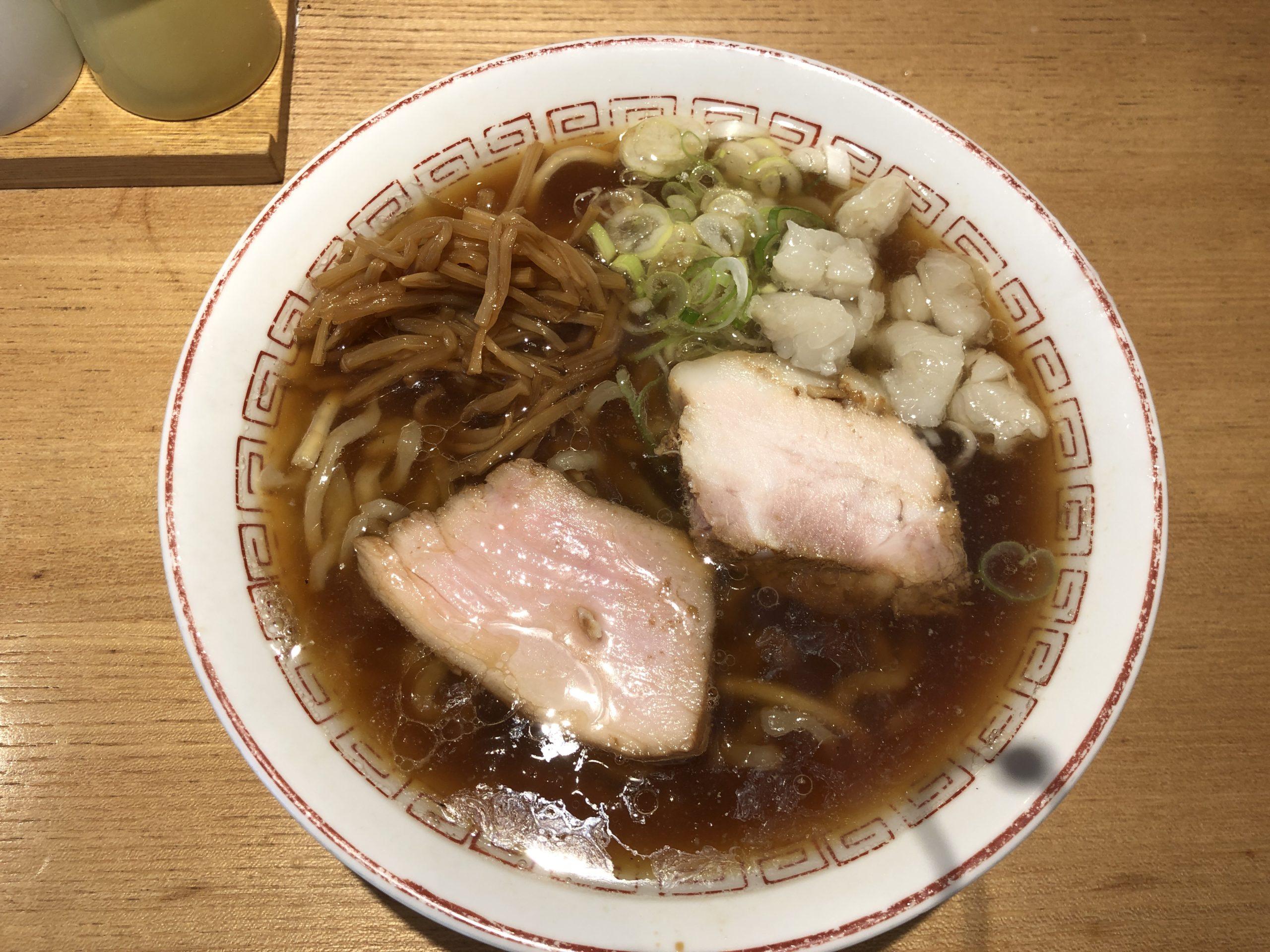 超多加水自家製手揉み麺 きたかた食堂 中華そば②「スープ」